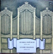 LEONID ROIZMAN orgona bakelit lemez LP
