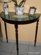 Francia konzol asztal , konzolasztal eladó íves , gyönyörű