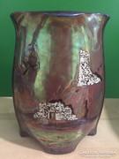 Zsolnay stúdió,váza.