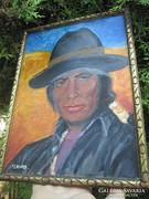 Perui indián művészi alkotás M. Kurz.