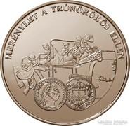 A magyar pénz krónikája - Merénylet a trónörökös ellen