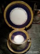 1 személyes Winterling  BAVARIA reggelizős, kávés készlet