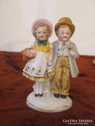Német porcelán figura pár