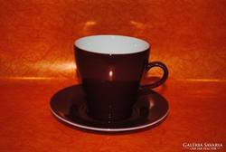 Hollóházi porcelán csésze és alj.