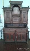 Antik barokk tálaló szekrény!