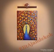 Páva - varázslatos festmény