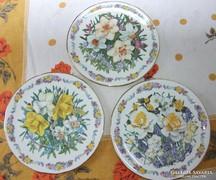 Bradex tányér készlet limitált , tavaszi vrágok , nárcisz