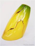 Színes retro üveg lámpabura , bura - sárga arany