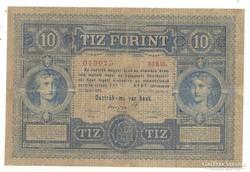 10 forint / gulden 1880 Nagyon ritka