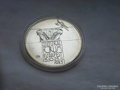 Kúltúrális fórum ezüst 500 Ft 28 gramm 0,640