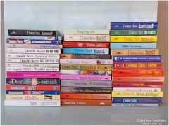 Danielle Steel  - romantikus könyvek , 41 darab könyv