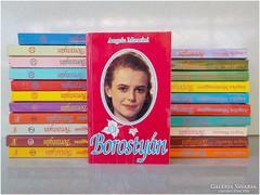 Borostyán    - romantikus könyvsorozat , 22 darab könyv