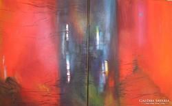 Frisson, Két db olajfestmény, egy kép