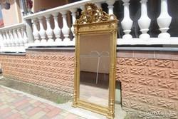 Antik aranyozott nagyméretű tükör