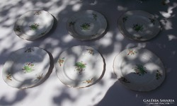 Herendi hecsedli - csipkebogyó mintás csészealj 15,5 cm