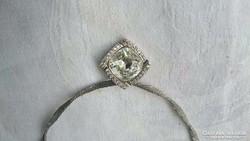 Különleges 925-ös ezüst nyaklánc álomszép medállal.