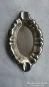 Hólyagos ezüst hamutartó 8.5×5.3 cm 18.77gr.