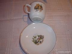 Mesefigurás gyerek tányér