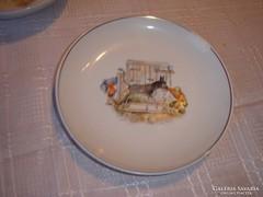 Mesefigurás gyerek tányér  lapos19cm