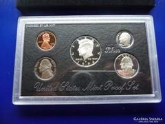 USA ezüst forgalmi sor 1996 S PP - Silver Proof Mint Set