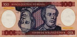 Brazília 100 cruzerios 1984 Unc