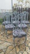 Provence neobarokk székek 6 db