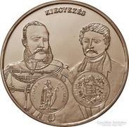 A magyar pénz krónikája - Kiegyezés - ezüst érme