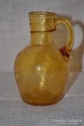 Repesztett mázas üveg kis kancsó  ( DBZ0053 )