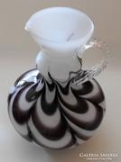 Muránói kancsó, 3 rétegű üveg