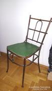 Antik rézpálcás szék