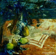 Magyar festő, XX. sz. közepe : Asztali csendélet