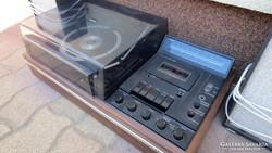 Matrix 4 channel stereo régi rádiós lemezlejátszó