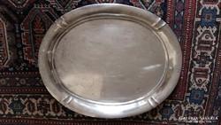 Nagyméretű ezüst tálca, 1520 gr
