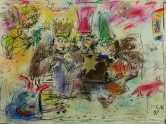 Tóth Ernő : Három királyok 1998