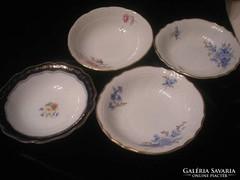 4db porcelán kínáló