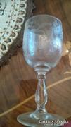 Kristály pohár 2db