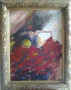 Tánc 6.,festmény