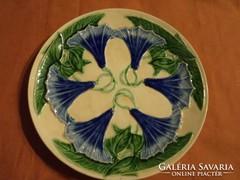 Schütz Cilli szecessziós tányér, 33 cm