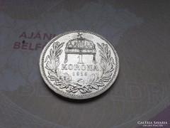 1915 magyar ezüst 1 korona,szép darab!!!