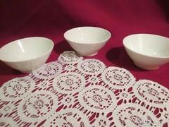 3 db Mintás Bavaria porcelán tál 0809