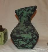 Csermák F. kerámia váza egyedi