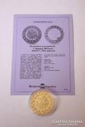Történelmi aranypénzek sorozat - 500 kurus