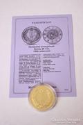 Történelmi aranypénzek sorozat - Korea, 20 von, 1906