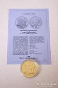 Történelmi aranypénzek sorozat - 5 zloty 1925