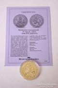 Történelmi aranypénzek sorozat - IV. Károly dukát