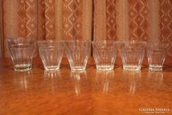 Retro kávés pohár kollekció (6 db)