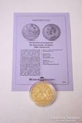 Történelmi aranypénzek sorozat - IX. Keresztély 10 daler