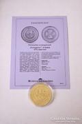 Történelmi aranypénzek sorozat - Portugaleser 10 dukát 1574