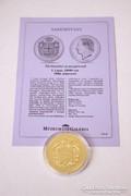 Történelmi aranypénzek sorozat - I. Lajos 10000 reis 1884