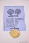 Történelmi aranypénzek sorozat - Rudolf 10 dukát 1603